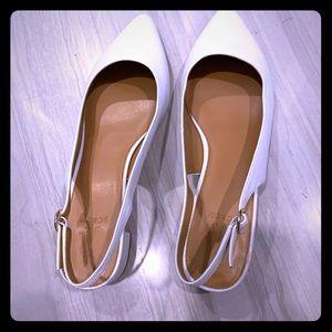 J crew white shoes